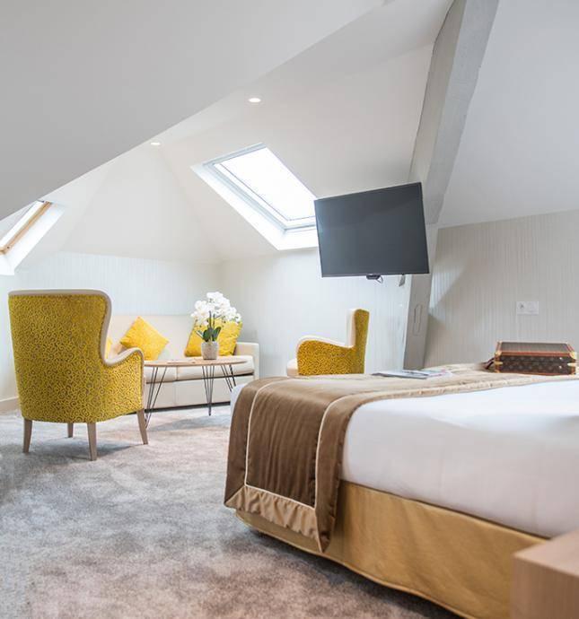 chambre hôtel 3 étoiles lourdes